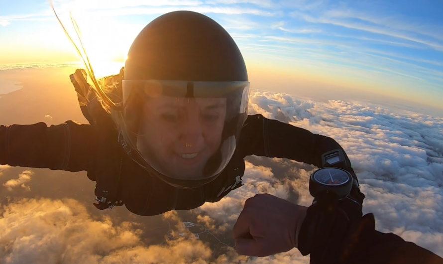 Skydive в Португалии.